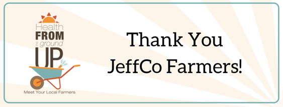 Thank You JeffCo Farmers